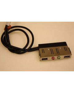 Lenovo ThinkCentre A61e USB Audio Ports Panel Cables