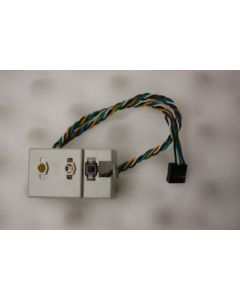 Packard Bell iMedia 1403 Power Button LED Lights 6934300