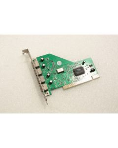 VIA 4 Port (VT6202 Chipset) USB PCI Adapter Card GM-VT6202A