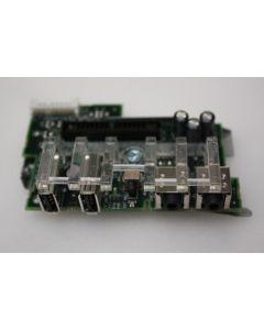 Dell Optiplex GX280 DT USB Audio Ports Panel Board Y4717