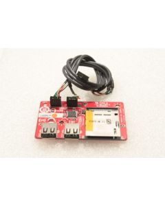 MSI Wind Top AE1920 All In One PC USB Card Reader Ports Board 14189-1