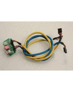 Alienware Area-51 X58 Audio Firewire Ports Cables DB01285D