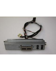 HP Proliant ML150 G3 Power Button USB Ports Panel 405270-001