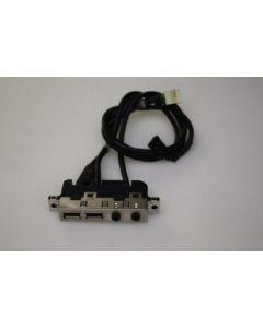 HP Compaq dc5150 USB Audio Ports Panel 4N638-004