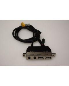 HP Compaq dc5100 MT USB Audio Ports Panel 384747-002