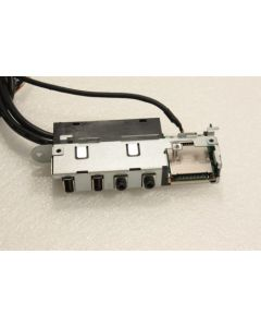 Dell Inspiron 660s  I/O USB Audio Card Reader Ports Panel Board Cable 4DPHV
