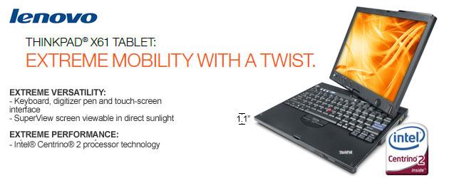X61 Tablet PC